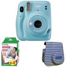 Fujifilm Instax Mini 11 ფოტოაპარატი + საჩუქრად ფირი + ჩანთა