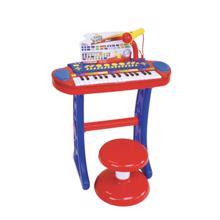 Bontempi პიანინო ლურჯი მიკროფონით