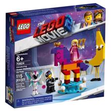 LEGO MOVIE ლეგოს კუბიკები დედოფალი