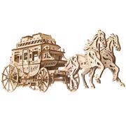 "UGEARS ""საფოსტო დილიჟანსი"" (Stagecoach) ასაწყობი მოდელი"