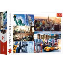 TREFL ფაზლი New York - collage