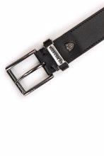 US Polo ტყავისშემცვლელი შავი კლასიკური ქამარი