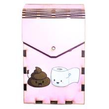 Tibox • ტიბოქს ხის ყუთი Poop