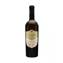კახური ტრადიციული მეღვინეობა თეთრი ნახევრად ტკბილი ღვინო ტვიში 750 მლ