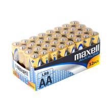 maxell ელემენტების შეკვრა  33 ცალიანი AA ზომა