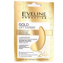 Eveline GOLD LIFT EXPERT თვალის პაჩი 3-1ში ოქროს ძაფების რევოლუციური ტექნილოგია