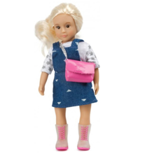 "Lori 6"" Doll W/ Overall Dress თოჯინა"