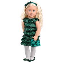 OUR GENERATION Anne Doll with Book თოჯინა აქსესუარებით