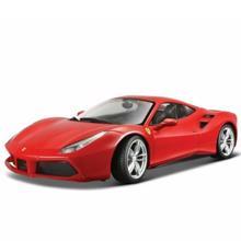 Bburago სათამაშო ლითონის მანქანა 1/24 FERRARI R & P Ferrari 488 GTB