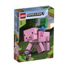 LEGO MINECRAFT-გოჭის ფიგურა პატარა ზომბით