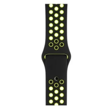 Maja Apple watch სამაჯური Nike Black/yellow 38x40 mm