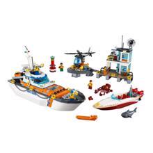lego კონსტრუქტორი - სანაპირო დაცვის შტაბი