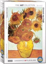 juniori Puzzle ფაზლი მზესუმზირები 1000 ნაწილანი