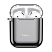 Baseus ARAPPOD-A01 for Air pods 1/2 Black ქეისი
