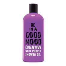 Be In Good Mood შხაპის გელი  CREATIVE WILD PURPLE 400ML