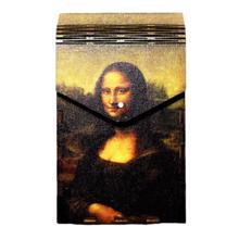 Tibox • ტიბოქს ხის ყუთი The Mona Lisa by Leonardo da Vinci