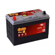 Centra აკუმულატორი Centra PLUS CB955 95 A/h L JIS