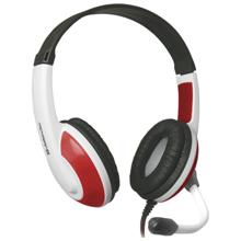 Defender Warhead G-120 Red + White Gaming ყურსასმენი