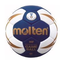 ხელბურთის ბურთი შეჯიბრის MOLTEN H3X5001-BW-X IHF სინთ. ტყავი No.3