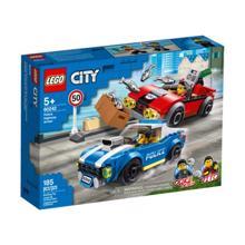 Lego Police Highway Arrest ასაწყობი მანქანები