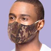 Eco Chic Camouflage Face Cover - პირბადე