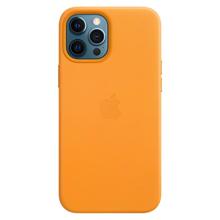 Apple iPhone 12 Pro Max Leather Case with MagSafe California Poppy მობილურის ქეისი