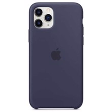 Apple Silicone Case for iPhone 11 Pro Midnight Blue ქეისი