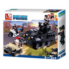 Sluban Police - SWAT ჯავშანტექნიკა
