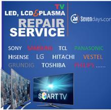LED ტელევიზორების შეკეთება გარანტიით. T.568-595550