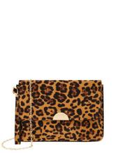 Monsoon Children Leopard Wristlet Clutch