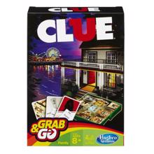 HASBRO Clue Grab And Go სამაგიდო თამაში