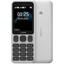 Nokia 125 White მობილური ტელეფონი