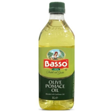 """Basso - ზეითუნის ზეთი - Basso - ზეთი - """"მზესუმზირის ზეთი 80% + პომასი 20%"""" 1000მლ"""