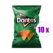 1 შეკვრა ჩიფსი Doritos TACO 77გრ 10ც