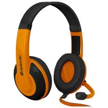 Defender Warhead G-120 Black + Orange Gaming ყურსასმენი
