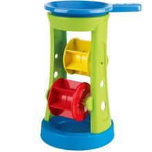 Hape ხის სათამაშო Double Sand and Water Wheel