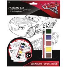 disney cars სახატავი ნაკრები