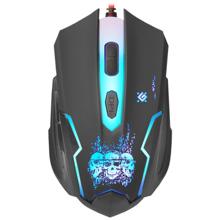 Defender Skull GM-180L Black Gaming მაუსი