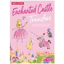 Scribble down ფურცელზე გადამყვანი სტიკერები Transferred Stickers Enchanted Castle