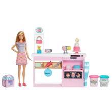 MATTEL Barbie Cake Decorating Bakery Playset ბარბის სამზარეულო დეკორაციებით