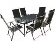 როტანგული ავეჯის ნაკრები GU18ORD012 მაგიდა + 6 სკამი