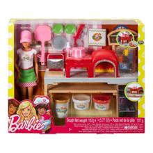 MATTEL Barbie შეფ მზარეული პიცით
