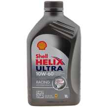 Shell ძრავის ზეთი Helix Ultra Racing 10W60 1ლ