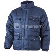 Coverguard დათბილული ქურთუკი მოხსნადი მკლავით Coverguard POLENA 5PSLB L ლურჯი