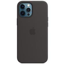 Apple iPhone 12 Pro Max Silicone Case with MagSafe Black მობილურის ქეისი