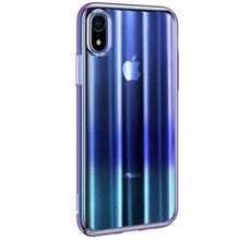 Baseus WIAPIPH61-JG03 for iphone XR Transparent/Blue ქეისი
