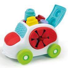 CLEMENTONI მანქანა კუბიკებით
