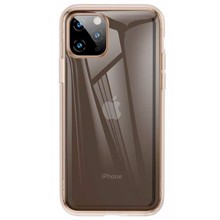 Baseus ARAPIPH58S-0V for iphone 11 Pro Gold/Transparent ქეისი