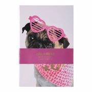 ბლოკნოტი/Valentine Stitch Bound Book