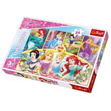 """TREFL """"24 Maxi"""" - The magic of memories / Disney Princess ფაზლი"""